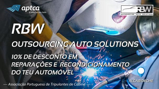 Recondicionamento automóvel com a RBW Auto Solutions