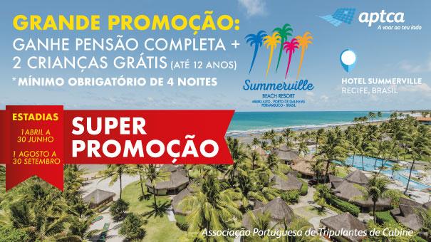 Grande promoção Summerville para o mês de Julho