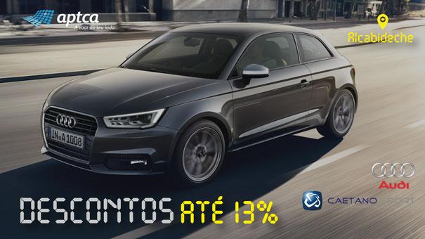 Agora é fácil comprar um Audi com a APTCA e a Caetano Sport