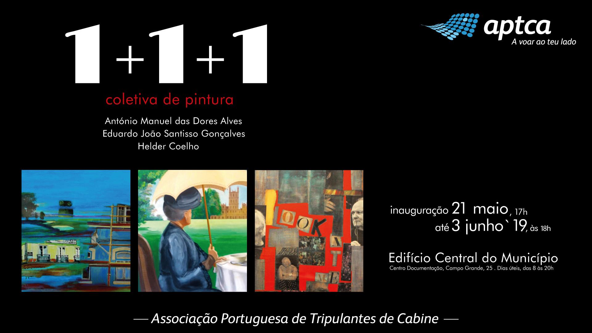 Exposição Coletiva de Pintura 1+1+1, Associado Santisso